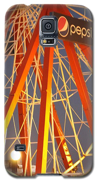 Moon And The Ferris Wheel Galaxy S5 Case