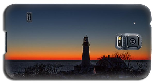 Moon And Venus - Headlight Sunrise Galaxy S5 Case