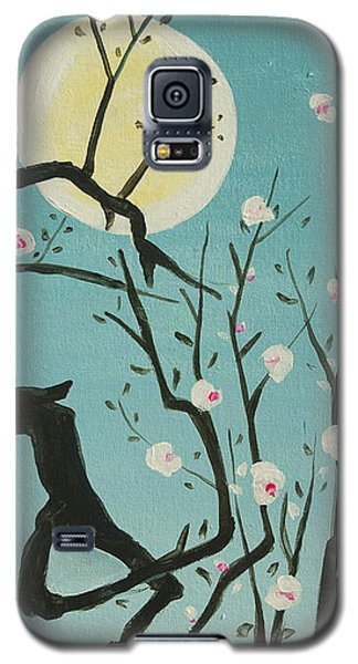 Moon Blossoms Galaxy S5 Case