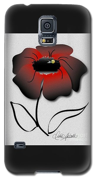 Moon Flower Galaxy S5 Case