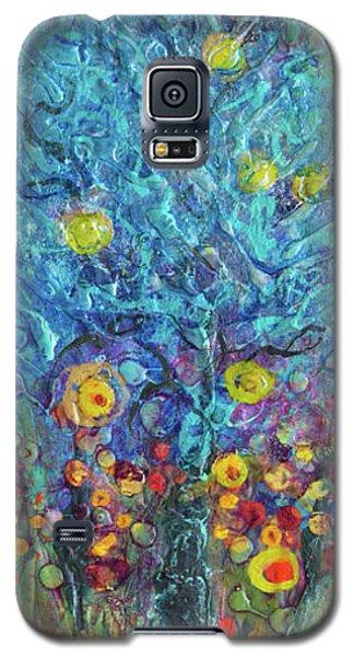 Moon Flowers Galaxy S5 Case