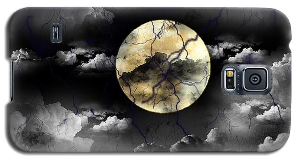Moon In The Storm Galaxy S5 Case