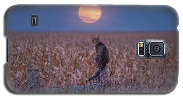 Moon Kitty  Galaxy S5 Case