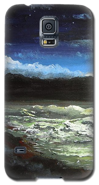 Moon Lit Sea Galaxy S5 Case