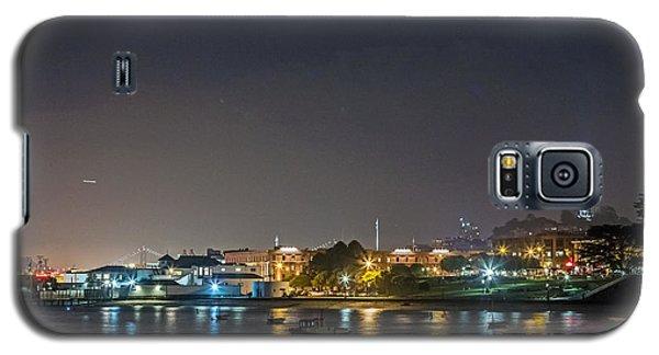 Moon Over Aquatic Park Galaxy S5 Case