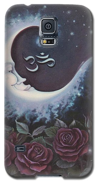 Moon Over Bed Of Roses Galaxy S5 Case