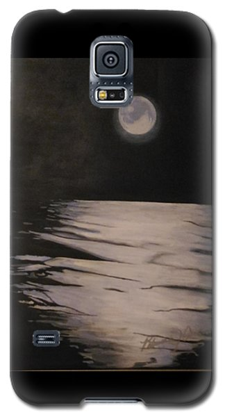 Moon Over The Wedge Galaxy S5 Case