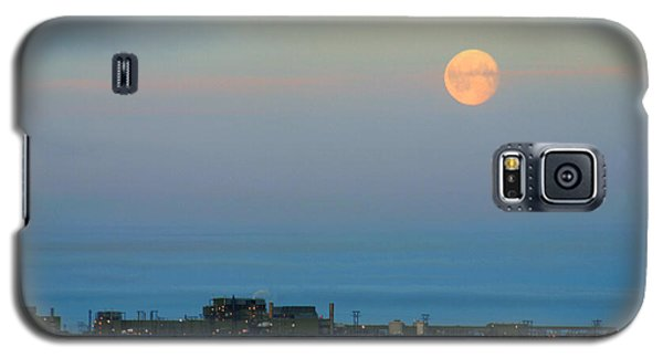 Moon Over Flow Station 1 Galaxy S5 Case
