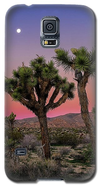 Moon Over Joshua Tree Galaxy S5 Case