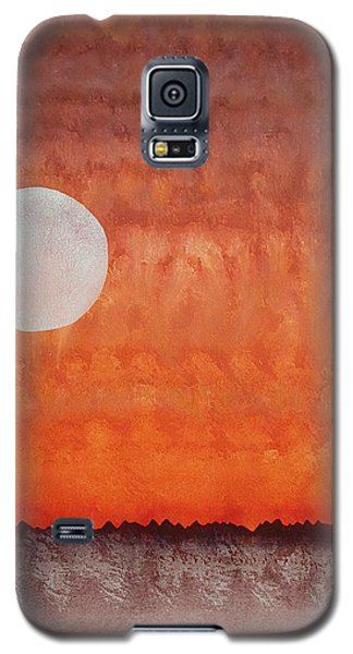 Moon Over Mojave Galaxy S5 Case