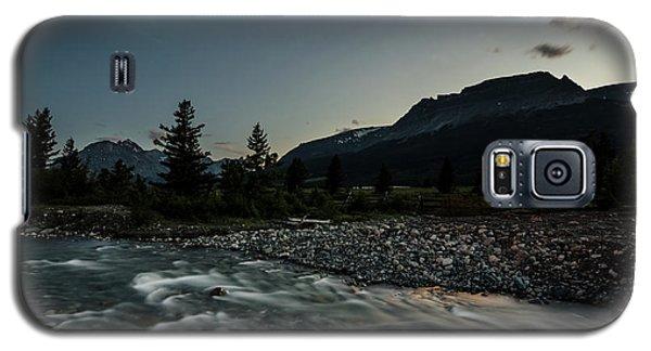 Moon Over Montana Galaxy S5 Case