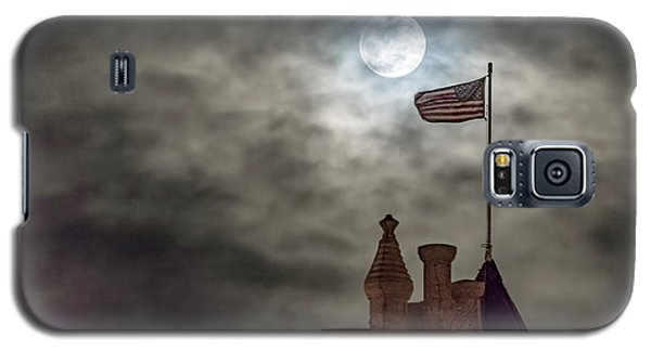 Moon Over The Bank Galaxy S5 Case by Rob Graham