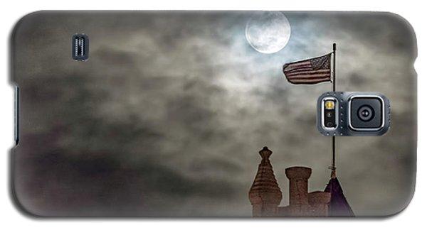 Moon Over The Bank Galaxy S5 Case