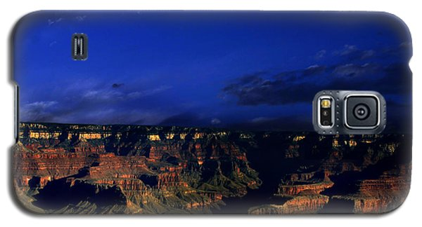 Moon Over The Canyon Galaxy S5 Case