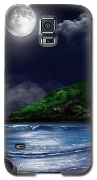 Moon Over The Cove Galaxy S5 Case