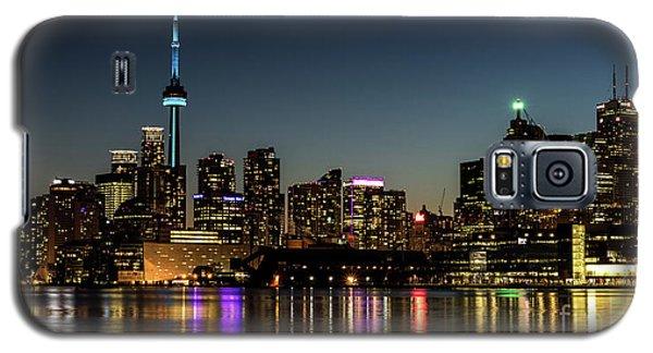 Moon Over Toronto Galaxy S5 Case