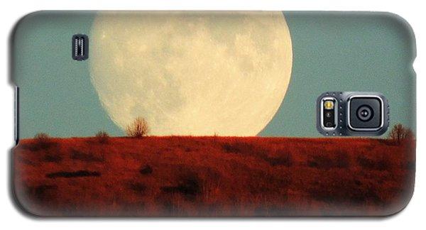 Moon Over Utah Galaxy S5 Case