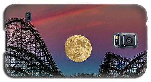 Moon Over Wildwood Nj Galaxy S5 Case