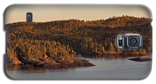 Moon Rise Over Pukaskwa Galaxy S5 Case