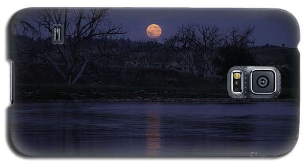 Moon Rise Over The Tongue Galaxy S5 Case