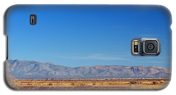 Galaxy S5 Case featuring the photograph Moon Rising by Barbara Manis