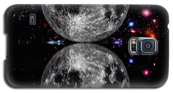 Galaxy S5 Case featuring the photograph Moon River by Naomi Burgess