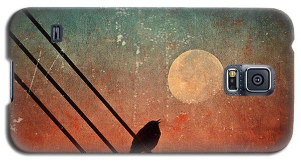 Moon Talk Galaxy S5 Case by Tara Turner