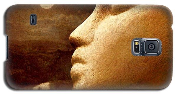 Moonface Galaxy S5 Case by Jeff  Gettis