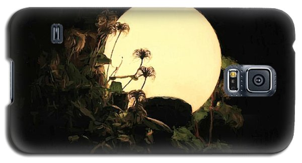 Moonglow Thistles Galaxy S5 Case