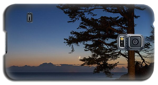 Moonlight At The Beach Galaxy S5 Case