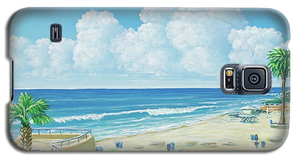 Moonlight Beach Galaxy S5 Case