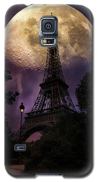 Moonlight In Paris Galaxy S5 Case