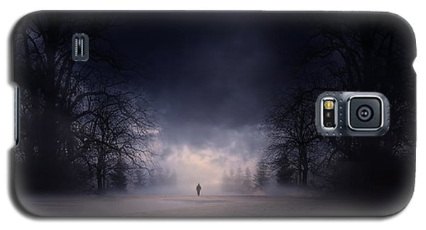 Moonlight Journey Galaxy S5 Case by Lourry Legarde
