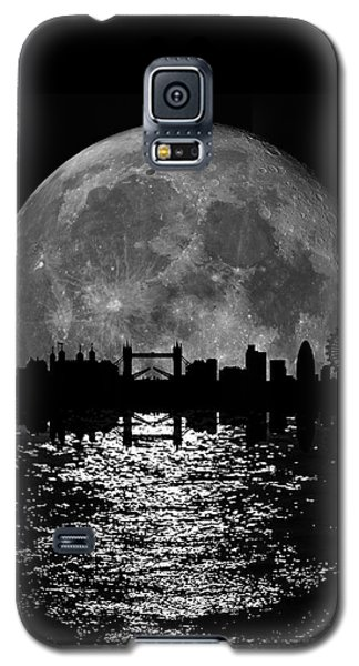 Moonlight London Skyline Galaxy S5 Case by Mark Rogan