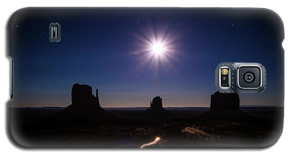 Moonlight Over Valley Galaxy S5 Case