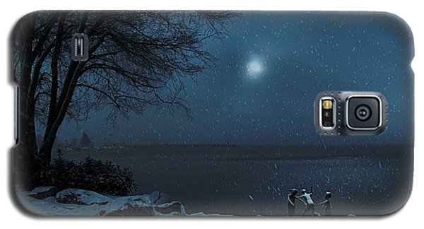 Moonlight Romp Galaxy S5 Case