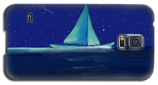 Moonlight Sail Galaxy S5 Case