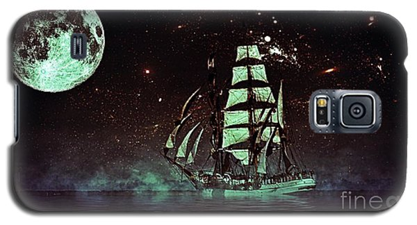 Moonlight Sailing Galaxy S5 Case by Blair Stuart