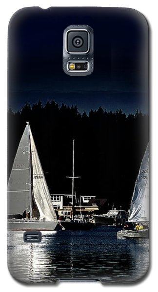 Galaxy S5 Case featuring the photograph Moonlight Sailing by David Patterson