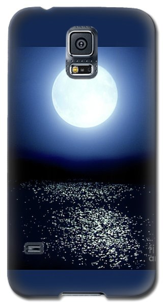Moonlight Galaxy S5 Case by Tatsuya Atarashi