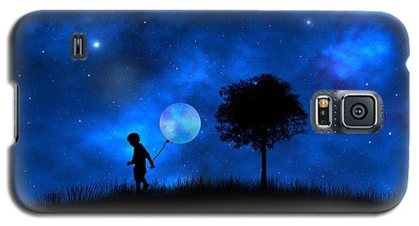 Galaxy S5 Case featuring the digital art Moonlight Shadow by Bernd Hau