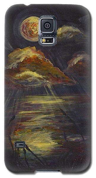 Moonlit Beach Guam Galaxy S5 Case
