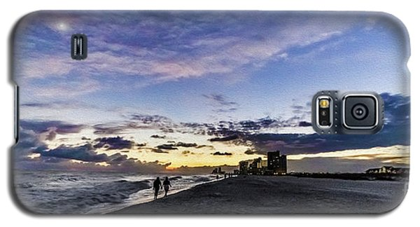 Moonlit Beach Sunset Seascape 0272b1 Galaxy S5 Case