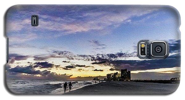 Moonlit Beach Sunset Seascape 0272c Galaxy S5 Case