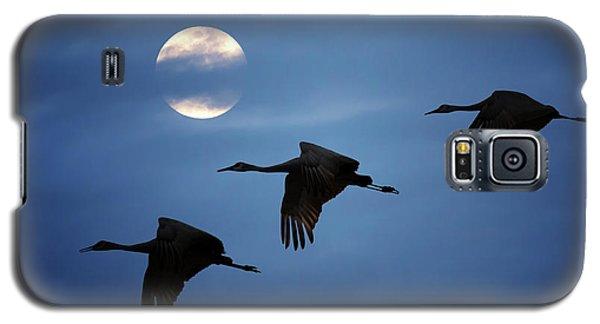 Moonlit Flight Galaxy S5 Case