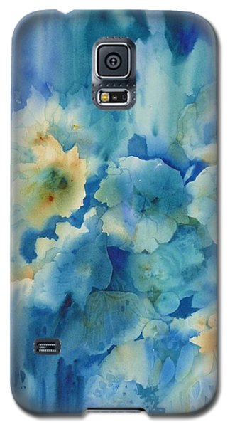 Moonlit Flowers Galaxy S5 Case by Donna Acheson-Juillet