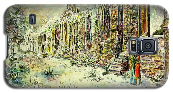 Moonlit Footsteps On Holy Ground Galaxy S5 Case