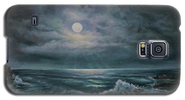 Moonlit Seascape Galaxy S5 Case