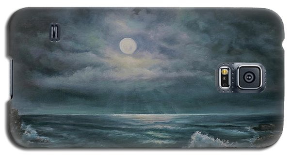 Moonlit Seascape Galaxy S5 Case