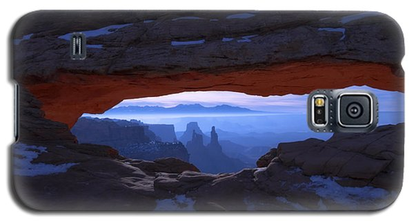 Galaxy S5 Case - Moonlit Mesa by Chad Dutson